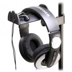 K&M 16080 Screw Clamp Headphone Holder