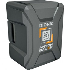 Anton Bauer Dionic 240Wh 26V Gold Mount Plus Battery