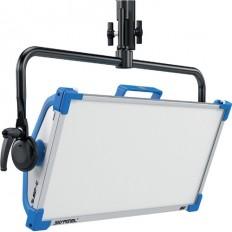 ARRI SkyPanel S60-C LED Softlight with Manual Yoke (Blue/Silver, Edison)