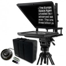 """AutocueQTV 17"""" Prompter Package, QStart Software, Controller & Carry Case"""