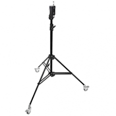 Kupo Master Combo Stand with Casters (Black, 7.5')