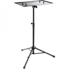 K&M 12185 Laptop Stand with Clamping Option (Black)