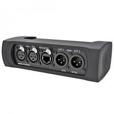 Neutrik NA2-IO-DLINE 2-Channel XLR Line-Level I/O to Dante Adapter