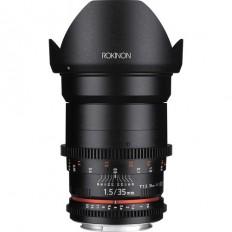 Rokinon 50mm T1.5 AS UMC Cine DS Lens for Sony E Mount