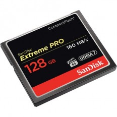 SanDisk 128GB Extreme Pro CompactFlash Memory Card (160MB/s)