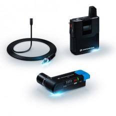 Sennheiser AVX-MKE2 SET Digital Camera-Mount Wireless Omni Lavalier Microphone System (1.9 GHz)