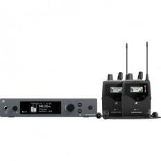 Sennheiser ew IEM G4-Twin Wireless Monitor System Kit (G: 566 to 608 MHz)