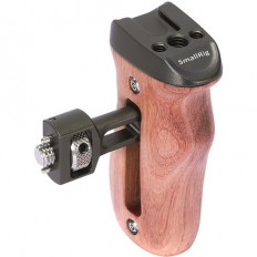 SmallRig Wooden Side Handle with ARRI-Style Mount (Dark Olive)